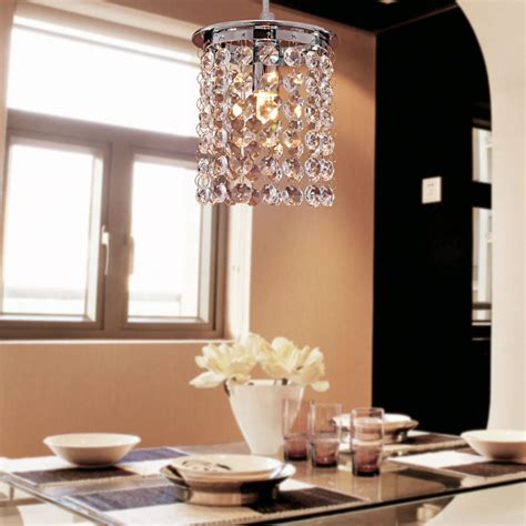 contemporary dining room ceiling lights modern crystal chandelier ceiling light adjustable pendant