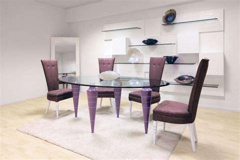 tavoli di cristallo sala da pranzo tavoli pranzo moderni finest tavolo da pranzo moderno in