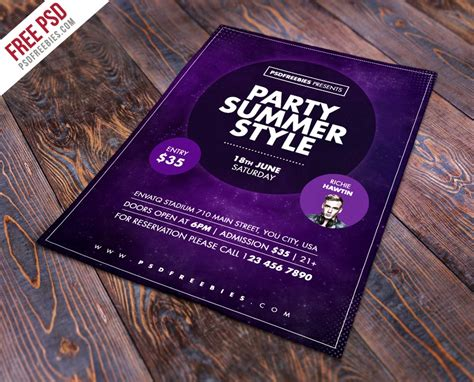 Free Flyer Templates Psd From 2016 » Css Author