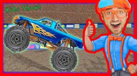 monster truck music videos monster truck song educational videos for preschooler
