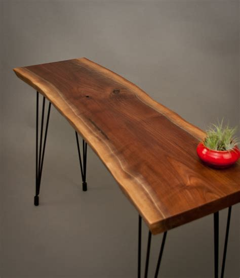 live wood coffee table console tables live edge wood console tables and