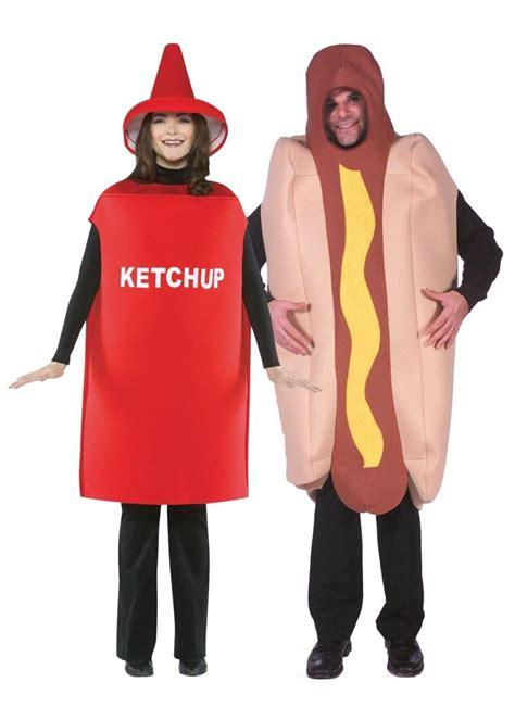 couple hot dog costume hot dog and ketchup couples costume couples costume