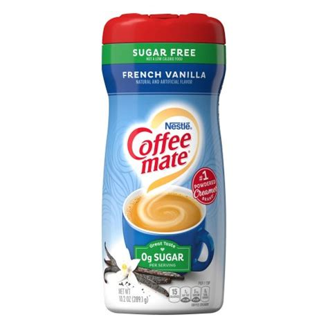 Coffee mate coffee creamer liquid singles, french vanilla, 24 count, pack of 4 4.5 out of 5. Coffee Mate Non Dairy Creamer - Carb Select French Vanilla 10.20 oz Harris Teeter