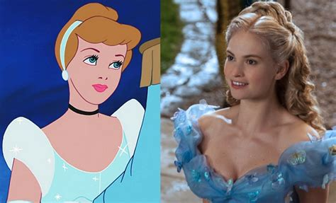 Is 'cinderella' 2015 Anything Like The 1950s Animated Version?