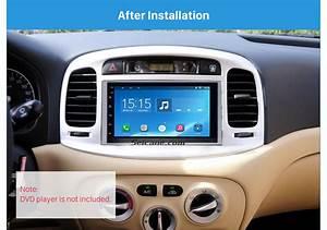 Fantastic Double Din 2008 Hyundai Accent Car Radio Fascia