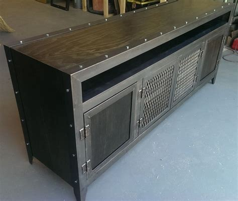 mid century stereo buy a custom industrial media console made to order from