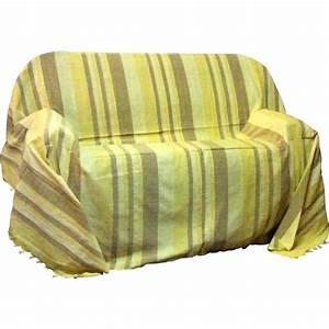Jeté De Canapé D Angle : jete de canape plaid dessus de lit kerala ~ Teatrodelosmanantiales.com Idées de Décoration