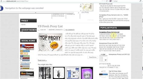 100,000 New Proxy List For Free