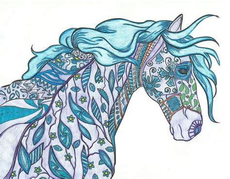 173 best images about horse lovers coloring books on