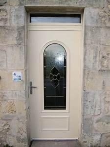 Porte Entrée Aluminium Rénovation : porte d 39 entr e aluminium avec vitrage fleurs solabaie ~ Premium-room.com Idées de Décoration