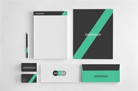 Minimal #Branding Identity Notepad Presentation Folder
