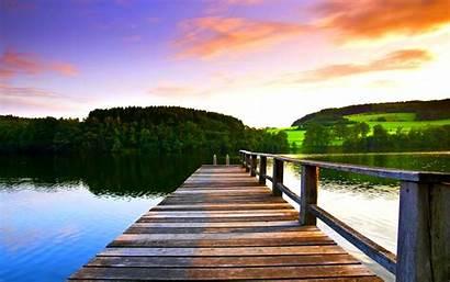 Dock Lake Wallpapers Nature Views Px Eskipaper