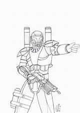 Clone Coloring Trooper Wars Arc Troopers Commander Drawing Bly Rep Printable Drawings Neo Getcolorings Deviantart Colori Paintingvalley Template sketch template