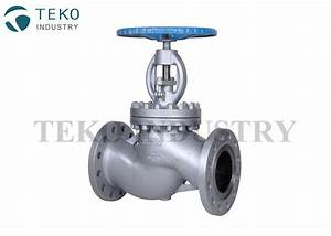 Manual Operation Bs 1873 Globe Valve   Flanged Globe Valve