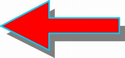 Arrow Left Facing Pointing Illustration Clipart Standing