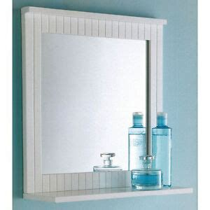 Bathroom Mirrors White Frame by Maine White Bathroom Wood Frame Mirror 1000032017600 Ebay