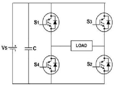 Schematic Diagram Single Phase Full Bridge Inverter