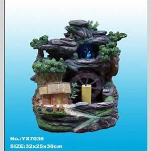 fontaine d39interieur avec petite maison roue a eau et With fontaine d eau interieur