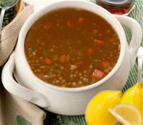 id馥 recette cuisine recette soupe de lentilles au poulet