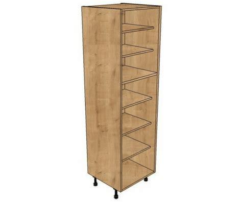 450 Shelved Larder Cabinet (1970mm High)  Bestq Kitchens