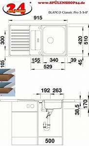Blanco Classic Pro 6 S If : blanco classic pro 5 s if 523663 kaufen sp len g nstig ~ A.2002-acura-tl-radio.info Haus und Dekorationen