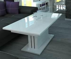 Weiß Hochglanz Couchtisch : couchtisch weiss hochglanz wohnzimmertisch sofatisch tisch wei wohnzimmer 120cm kaufen bei ~ A.2002-acura-tl-radio.info Haus und Dekorationen