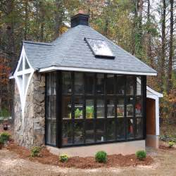 small cottages jeff 39 s cabin greenhouse tiny house design