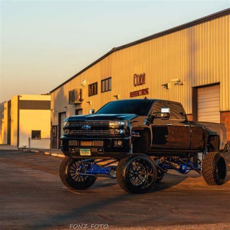 chevrolet silverado duramax lifted sema show custom solid axle swap  sale