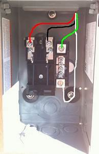 Square D Homeline 100 Amp Load Center Wiring Diagram