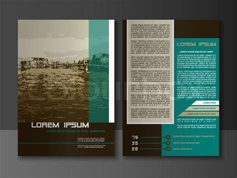 modern style brochure  flyer design templates creative