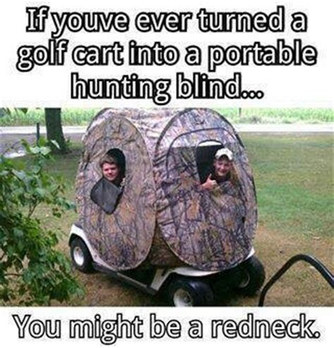 hunting blinds golf carts  rednecks  pinterest