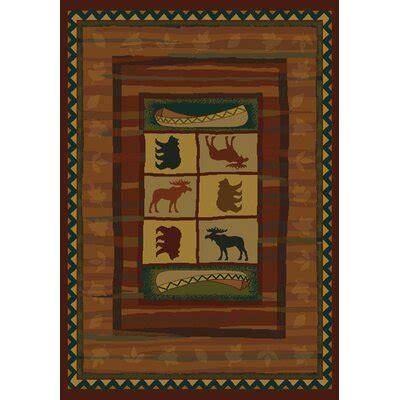 moose rug shop  log homes