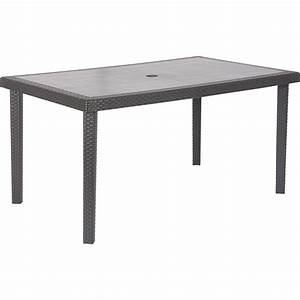 table de jardin boheme rectangulaire anthracite 6 With table de jardin aluminium leroy merlin 6 chaise et fauteuil de jardin salon de jardin table et