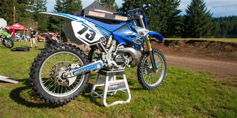 motocross bike stand how to put a dirt bike on a stand motosport