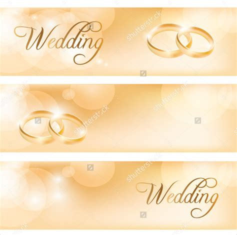 wedding banner template   psd ai vector eps