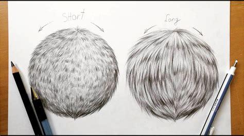 drawing tutorial   draw realistic fur  graphite