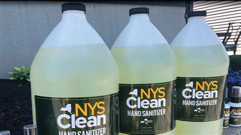 nys clean hand sanitizer   jefferson county