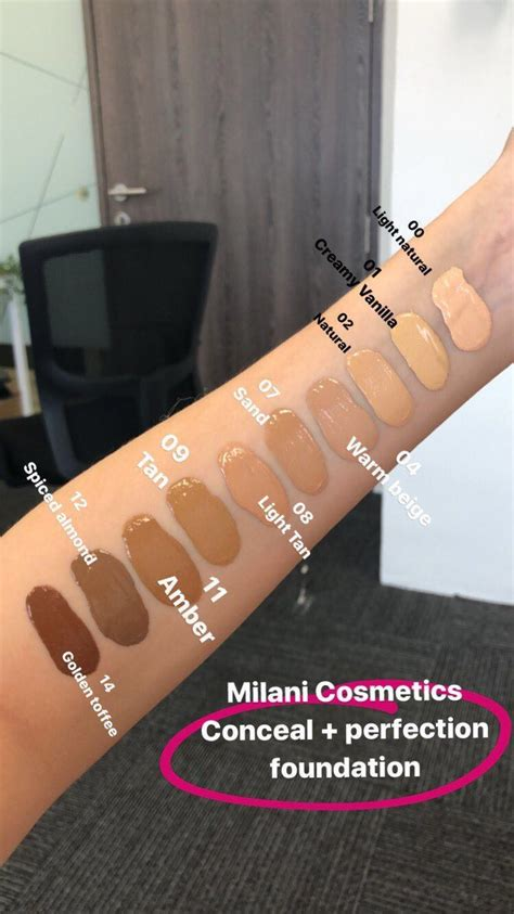 shop milani conceal perfect foundation
