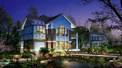 Desktop Wallpapers Houses Background Homes Pretty Modern