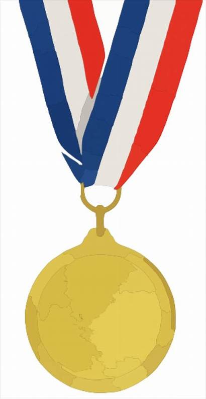 Medal Olympic Gold Clipart Clip Winner Olympics
