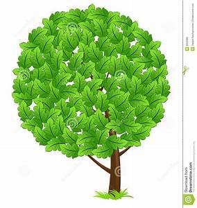 Green Tree Icon Stock Photo - Image: 9552580