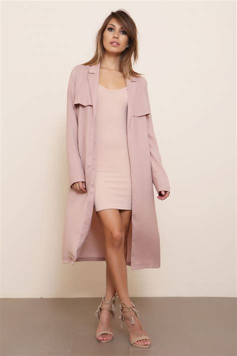 ideas  pink trench coat  pinterest spring