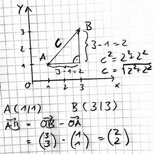 Seitenhalbierende Dreieck Berechnen Vektoren : vektorrechnung schnell verstehen ~ Themetempest.com Abrechnung