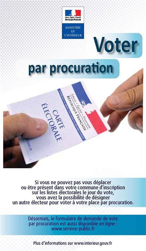 comment changer de bureau de vote biarritz vague d 39 avenir comment voter par procuration