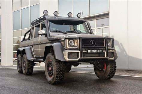 Get this car in here : Mercedes-Benz G63 AMG BRABUS 6x6 | BENZTUNING