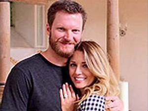 dale earnhardt jr is engaged to amy reimann youtube With dale jr wedding ring