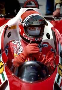 Niki Lauda 1977 Ferrari