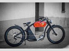 Elektrische fiets geïnspireerd op cafe racers is awesome