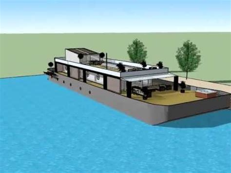 Old Boat House For Sale by Transformation Of An Old Barge Into A Quot Modern Luxury