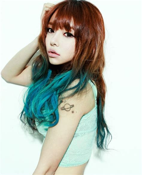 Brown To Blue Ombre Dip Dyed Hair Hair Pinterest